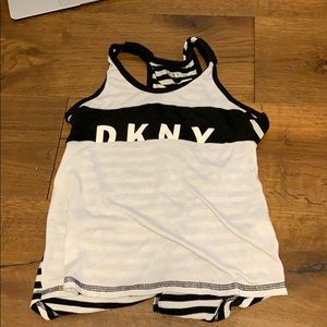 Pyjama tank top for girls